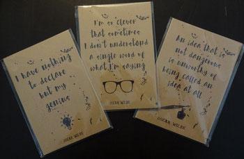 1 von 3 Oscar Wilde Notizbücher von Literary Emporium, 4,77 €