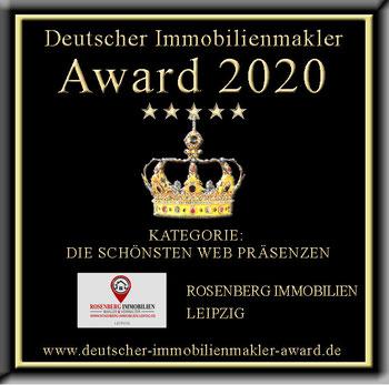 IMMOBILIENMAKLER LEIPZIG TIMM SONNENFELD ROSENBERG IMMOBILIEN MAKLERAWARD MAKLER AWARD MAKLERAUSZEICHNUNG