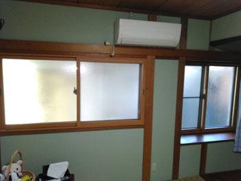 和室に内窓を設置しました。