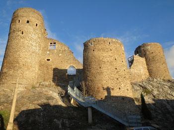 Pilat, Rochetaillée, gite, Saint-Etienne, château