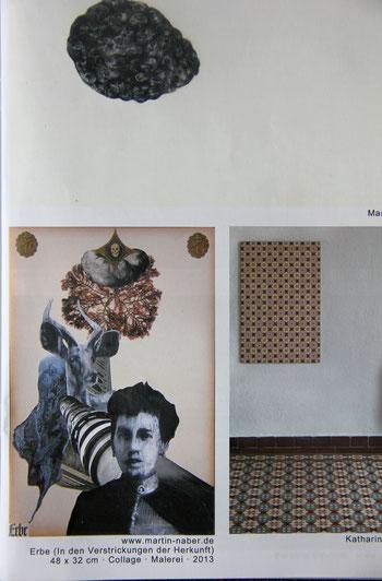 """Martin Naber im Rundgangsmagazin """"Maximalismus"""" der Kunstakademie Düsseldorf, 2014"""