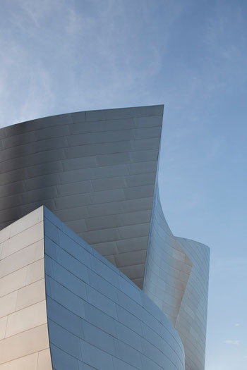 Frank Gehrys Walt Disney Concert Hall - Making Of #1 (Copyright Martin Schmidt, Fotograf für Schwarz-Weiß Fine-Art Architektur- und Landschaftsfotografie aus Nürnberg)