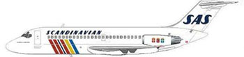 SAS Scandinavian Airlines Douglas DC-9-21/Courtesy: MD-80.com