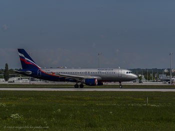 Aeroflot VQ-BHL Boeing 737-800