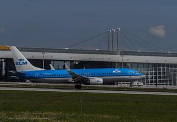 KLM PH-BXK Boeing 737-800