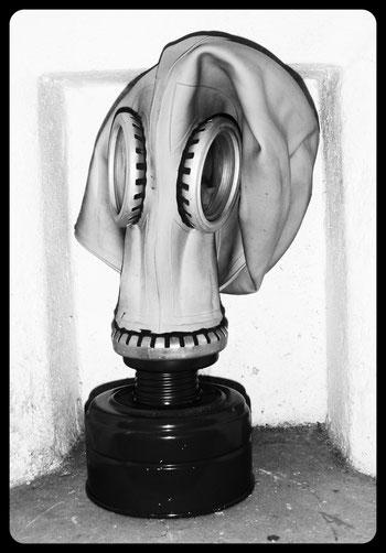 Maschera anti gas Valdaora Plan de Corones Italia