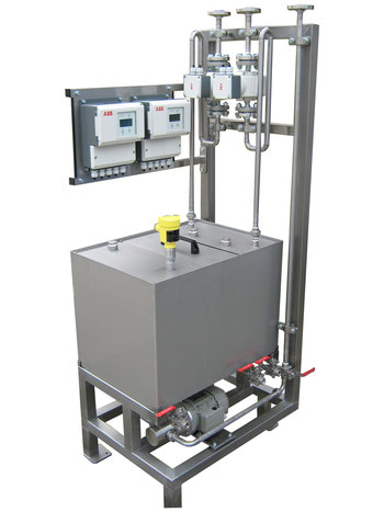 Backflow conveying unit