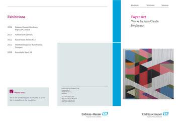 Ausstellung Endress und Hauser, Maulburg, Houlmann Jean-Claude