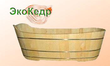 Купель детская  (Алтайский кедр)