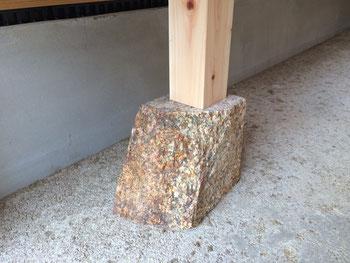 自然石束石/万成石