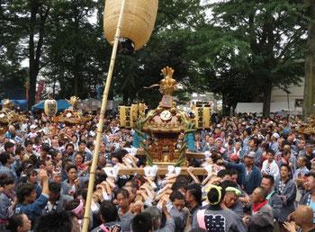 平成28年度,北澤八幡宮例大祭