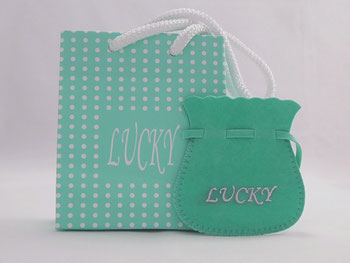bag - suede  Lucky
