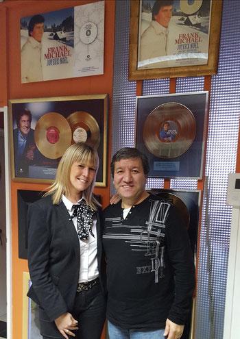 avec Enzo (producteur de Franck Michael) décembre 2015