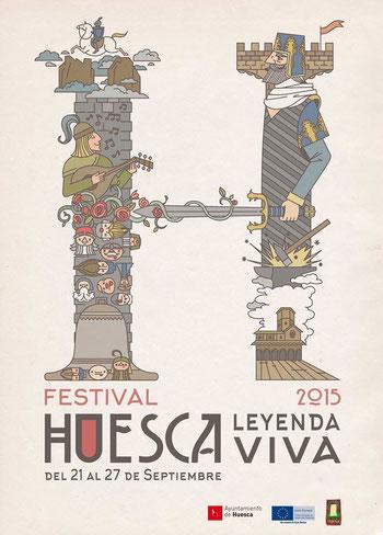 Programa de La Leyenda Viva en Huesca