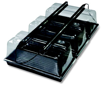 "Use 2 x 36"" LED Strip Lights to perfectly light three 1020 trays. For maximum performance use our SunBlaster NanoDomes."
