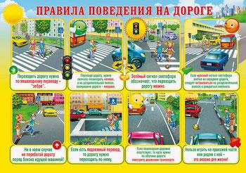 Правила поведения на дороге для детей