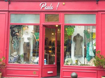 Boutique Paula ! & Les Créateurs... vitrine de février 2016