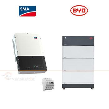 SMA Sunny Boy Storage und BYD B-BOX PREMIUM