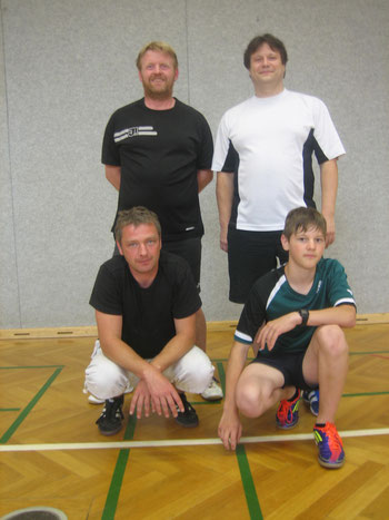 von links oben: Jürgen Zündorf; Jörg Lemke; Daniel Keidel; Cedric Lemke