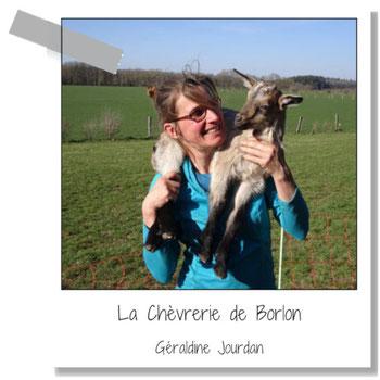 La Chèvrerie de Borlon - Géraldine Jourdan