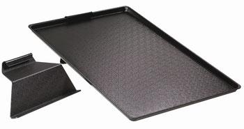 Tablettaufsteller schwarz, FMU GmbH, Auslegetabletts