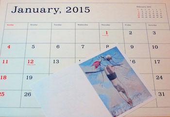 葛西薫カレンダー2015、オイルライフ、