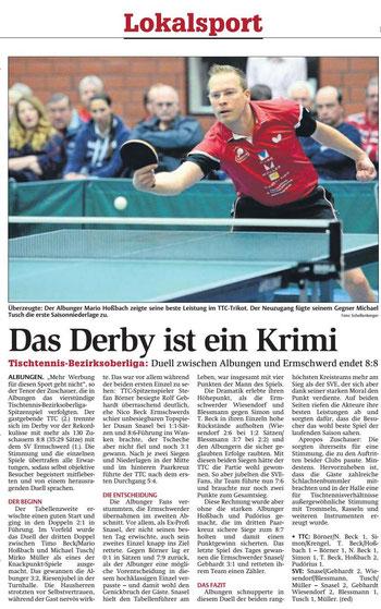 Zeitungsbericht Werra-Rundschau, 15.11.2016