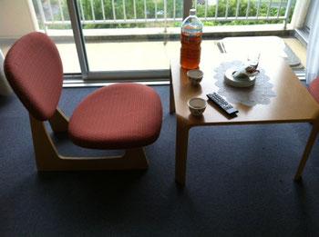 PS:ホテルの椅子とテーブルが天童木工製てのが少しだけ「おぉ!」ってなりました、。