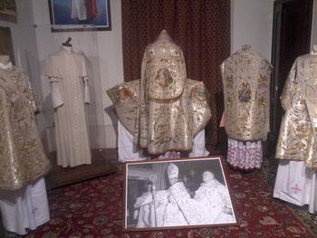 La Sala Paolo VI nell'allestimento del 2015