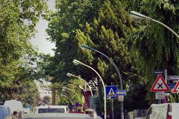 Gaslaternen LöwenStraße