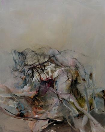 Acrylique sur toile dim 162cmx130cm
