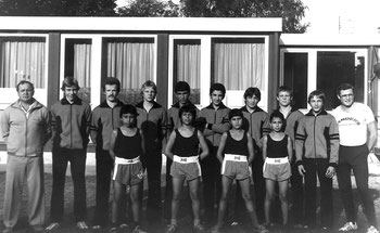 Hintere Reihe v.l.n.r.: trainer Tepper, Oimann, Reddmann, Stratmann I, Dasdan, Demir I, Aydin, Stratmann II, Jander, Trainer Schmellenkamp, Vordere Reihe: MarI, Mar II, Demir II