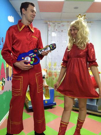 Аниматоры Бременские музыканты на детский праздник и день рождения ребенка Москва