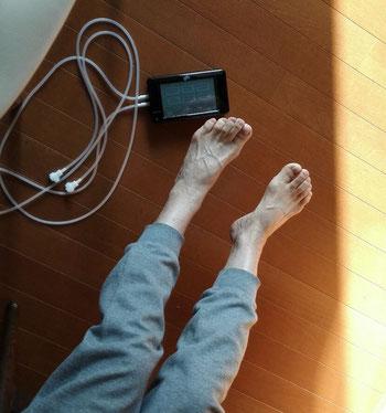 母の足とKAATSU NANO