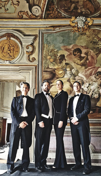 Quartetto d'Archi MICHELANGELO per BVLGARI gioielli