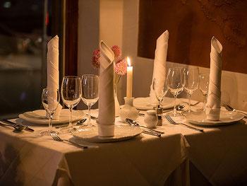 Hochzeitsessen in der Eventlocation in München