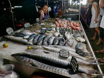 Streetmarket in Thailand