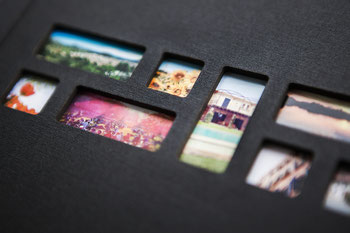 Photo of the special 20Moments photo book hardcover