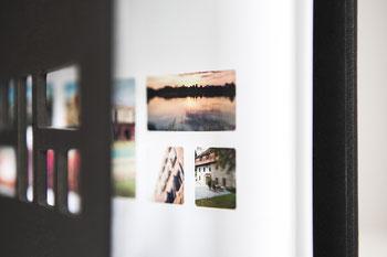 Foto vom persönlichen Titel des 20Moments Fotobuch.