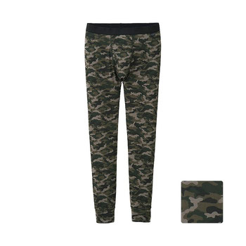 UNIQLO Men Heattech Camouflage Long Johns