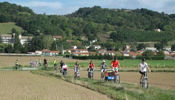 Du coté de Bellegarde lors de la journée nationale des voies vertes 2013