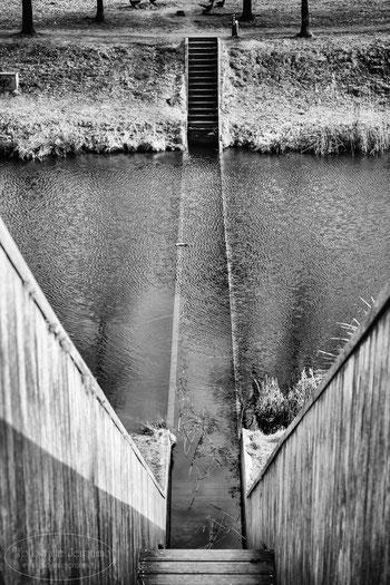 Mijn winnende foto van de Mozesbrug bij Fort de Roovere in Halsteren