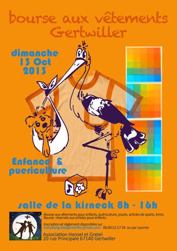 Bourse aux vêtement Gertwiller Oct 2013