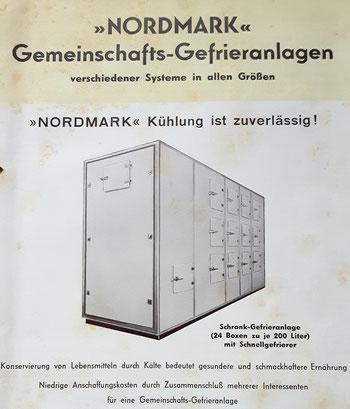 Aus einem Prospekt der Gebr. Klaus in Flensburg