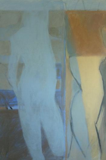 L'Une de miel / Acrylique sur toile 162x114
