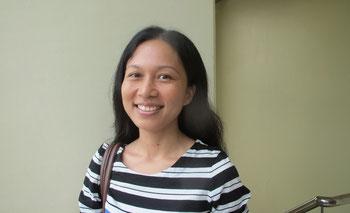 最も信頼しているフィリピン人の一人F先生(当校元教師)