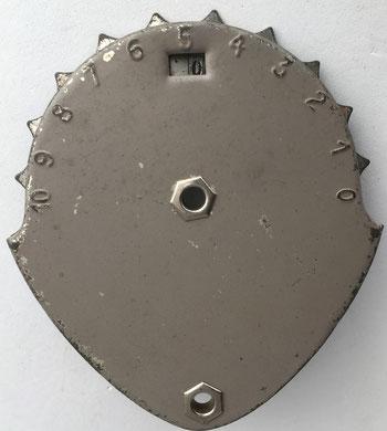 Contador de los eslabones de la cadena de bicicleta, 8x10 cm, sin marca