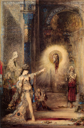 Gustave Moreau, The Apparition, 1876,