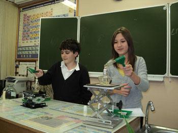 Юные экспериментаторы 7а класса (2011-12 уч.год)