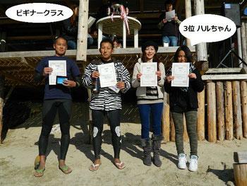 写真右)3位 樋渡遥加 おめでとう~♪